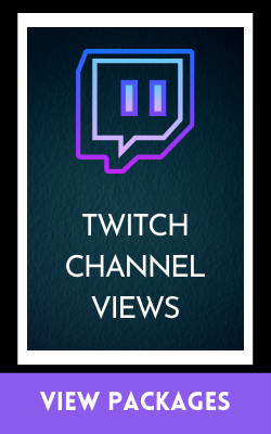 twitch channel views packages